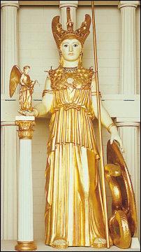 Athéna est la déesse de :