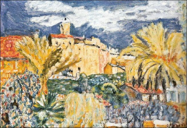 Quelle est cette ville peinte par Pierre Bonnard, située dans les Alpes Maritimes, dont les habitants sont les cannetois ?