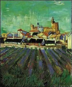Quelle est cette ville, peinte par van Gogh, dont une fête célèbre réunit chaque année, au printemps, des milliers de gitans et où se côtoient taureaux et chevaux ?