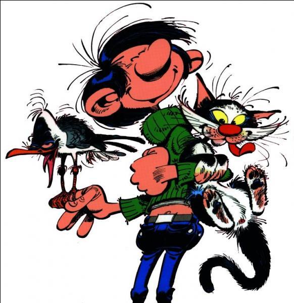 Et pour finir, je vous demande quel est le nom du chat dont Gaston est fou ?