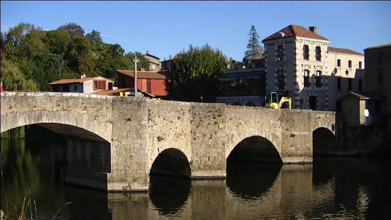 Le Pont de la Vallée, d'une longueur de 63 mètres, a été construit au XVIIIe siècle sur la Sèvre Nantaise en Loire-Atlantique à :