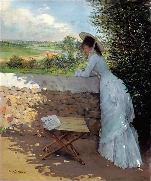 Je vous présente encore une belle toile d'un grand peintre :