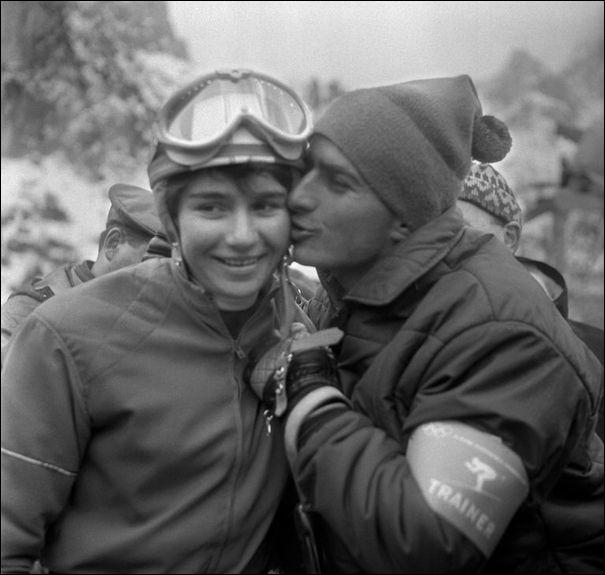 Il fut entraîneur de l'Equipe de France de Ski, et des soeurs Goitschel, c'est ....