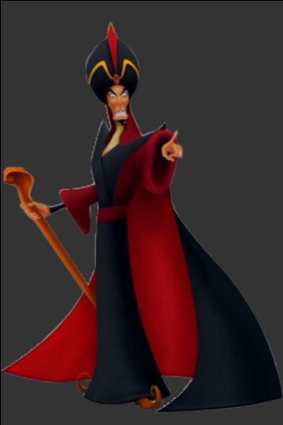 """Il est impitoyable et prêt à tout pour arriver à ses fins. Quel est le nom de ce personnage tiré du conte """"Aladdin"""" ?"""
