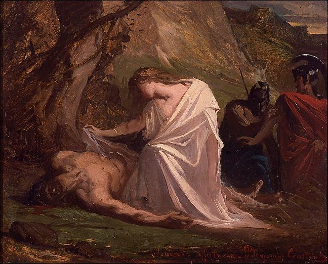 Dans quelle pièce de Sophocle, le roi Créon prive-t-il Polynice, fils d'Œdipe, de sépulture ?
