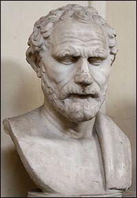 Homme politique, né à Athènes vers 384 avant J.-C. Il était l'un des plus grands orateurs attiques. Qui était-il ?