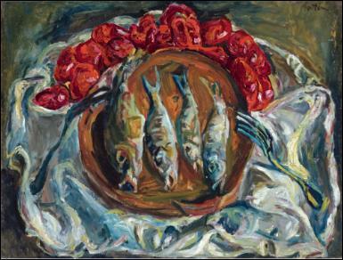 """Qui a peint """"Poissons et tomates"""" ?"""