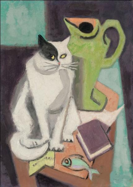 """Qui a peint """"Chat et poisson"""" ?"""
