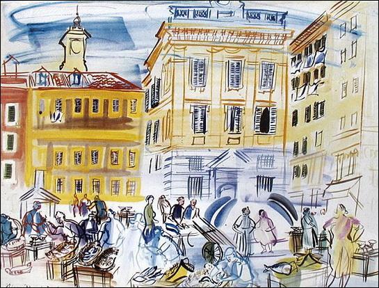 """Qui a peint """"Le marché aux poissons"""" ?"""