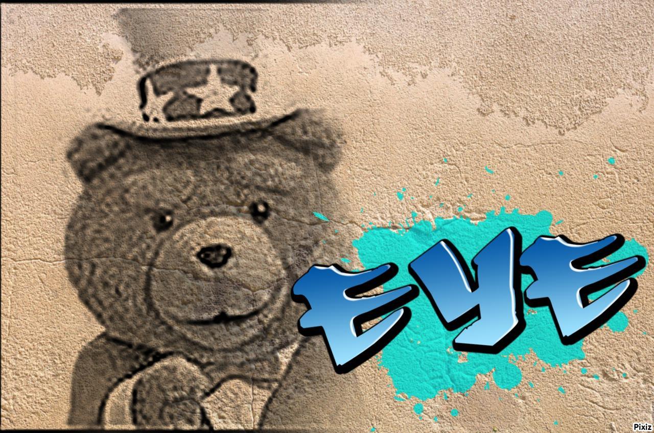 Jouons avec notre Teddy/Eye !