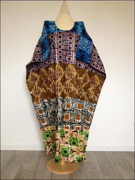 Vêtement traditionnel africain.