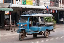 Taxi thaïlandais.