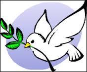 Que symbolise cette colombe ?