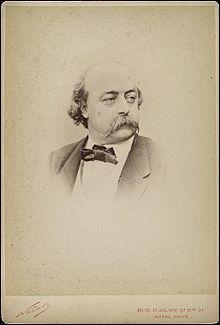 Cet écrivain est né en 1821 à Rouen ; il est l'auteur de ''L'éducation sentimentale'', ''Salammbô''. Son nom est :