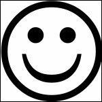 Quizz les smileys quiz enfants - Smiley simple noir et blanc ...