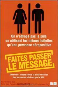 """Le VIH est """"véhiculé"""" par :"""