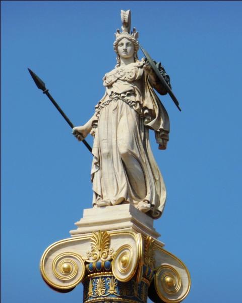 Je suis la protectrice d'Athènes et la déesse de la sagesse.Qui suis-je ?