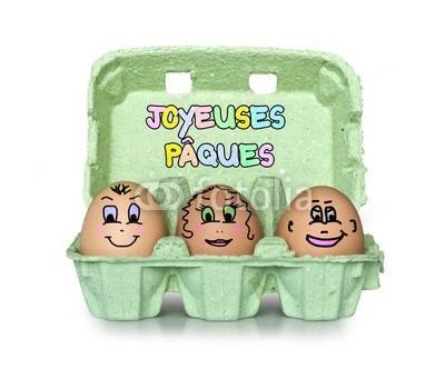 C'est Pâques. Si on mangeait des oeufs ?