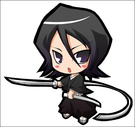 Capitaine de la treizième division, je suis une shinigami et la jeune sœur de Hisana. J'ai donné mes pouvoirs à Ichigo. Qui suis-je ?