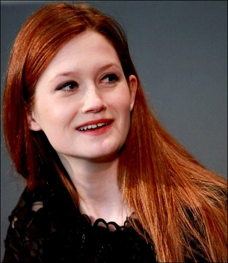 15. Bonnie Wright (43 pts)