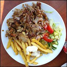 Du kebab, c'est forcément :