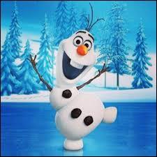 Un bonhomme de neige qui rêve de voir l'été ! On peut dire qu'il est complètement...