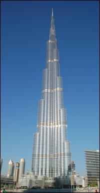 Dans quelle ville se trouve la Burj Khalifa ?