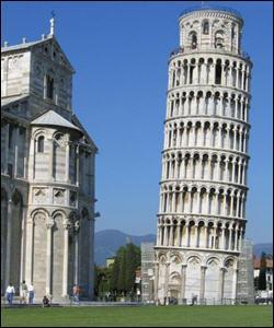 Dans quelle ville se trouve la tour de Pise ?