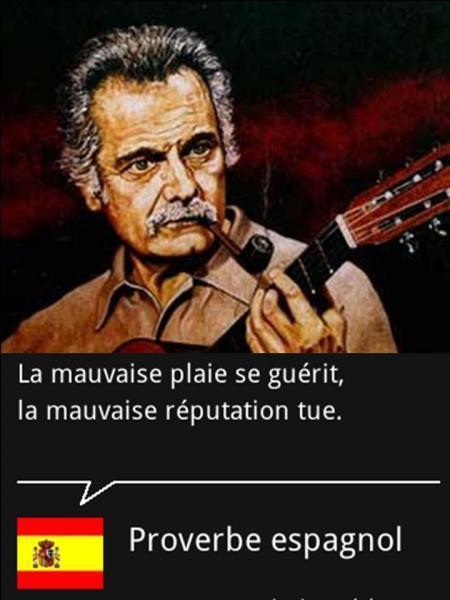 En Espagne, elle est comprise comme une chanson de « protestation sociale », contre l'armée, la justice... Brassens aurait été surpris par cette interprétation, lui, qui ne visait que les braves gens ! Quelle est cette chanson ?