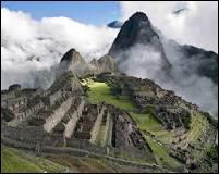 Machu Pichu. Dans quel pays peut-on voir ce monument ?