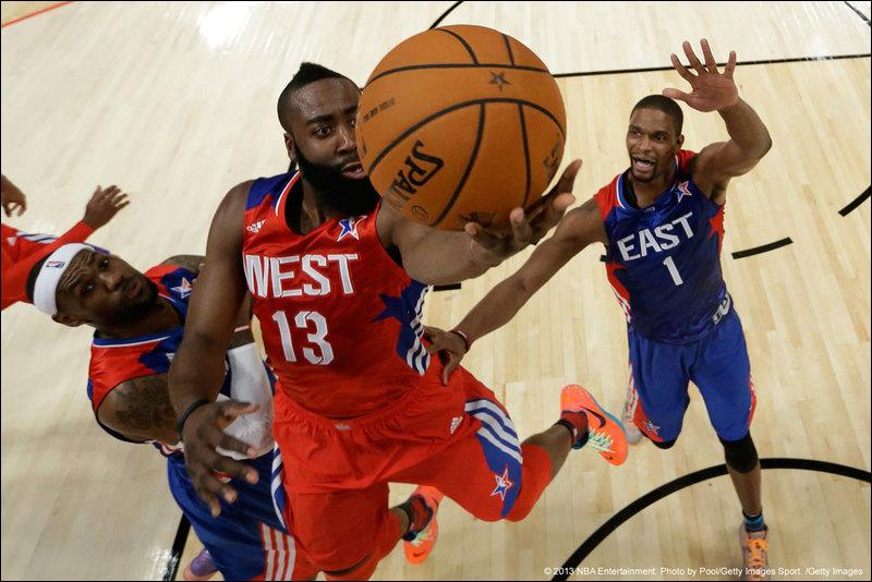 Quel est le nom de la ville dans laquelle a eu lieu le NBA All-Star Weekend 2014 ?