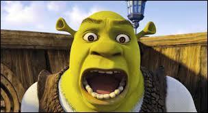 Shrek vit dans :