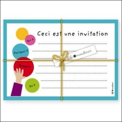 Vers quels hôtes vous dirigez-vous si vous empruntez ce canal portant un nom de carton d'invitation ?