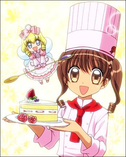 """""""Yumeiro pâtissière"""" : Comment s'appelle la fée de la pâtisserie de Hanabusa ?"""