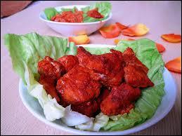 Lequel de ces pays a pour spécialité le poulet tandoori ?