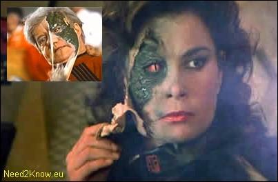 Vous souvenez-vous de la lettre de cette série dans laquelle sous des apparences humaines, des extra-terrestres étaient en fait des lézards malfaisants ?