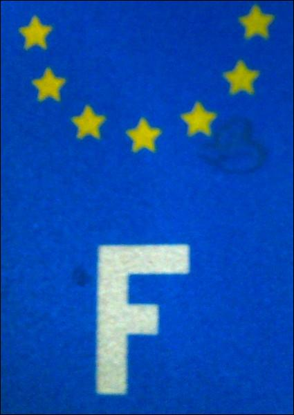 'F' est la lettre désignant les véhicules en provenance de la France, mais de quelle ville allemande aussi ?