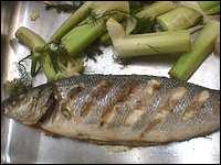 Quel est ce savoureux poisson cuit sur le grill ?