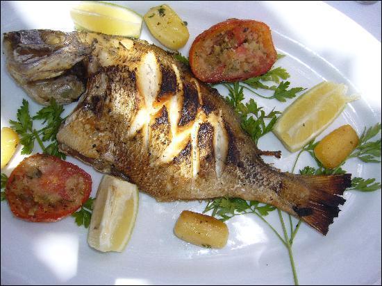 Encore un poisson grillé qui ne vous fera pas grossir :