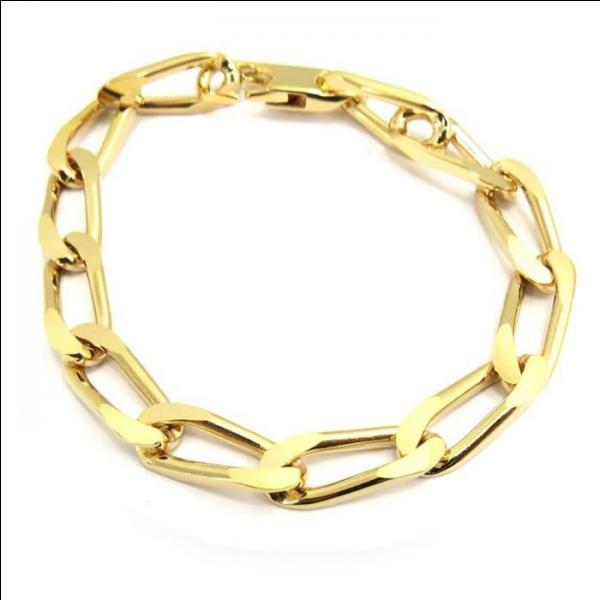 Quelle est la maille de ce bracelet ?