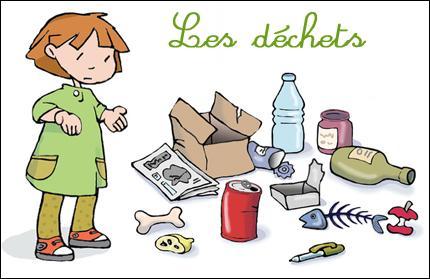 Parmi les déchets suivants, lequel ne peut pas être transformé en compost ?