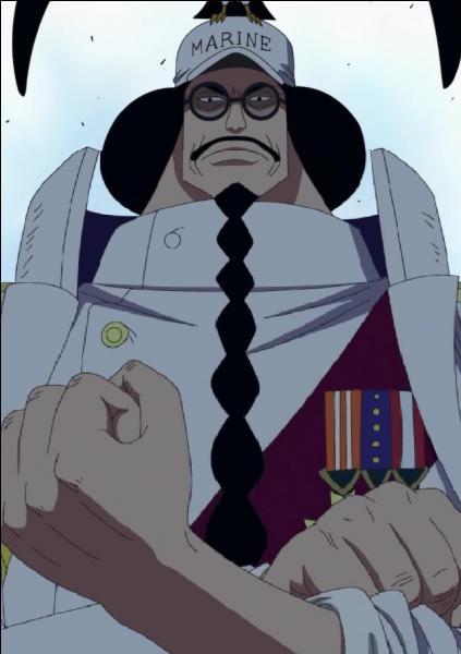 Quel fruit possède l'Amiral Sengoku ?
