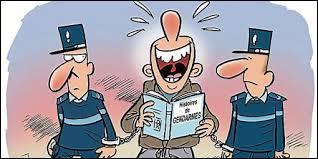 Quel est le comble pour un agent de police ?