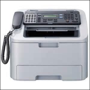 Le « fax » ne fonctionnait pas.