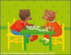 """On imagine que """"Petit Ours brun"""" n'est pas un animal mais un humain. Que fait Petit Ours brun ?"""