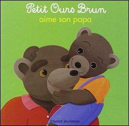"""On imagine toujours que """"Petit Ours brun"""" n'est pas un animal mais un personnage assimilé aux humains : Avec qui est Petit Ours brun ?"""