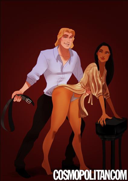 Pauvre Pocahontas. Elle s'apprête à se faire battre à la ceinture par celui qu'elle a aimé, un blondinet du nom de John...