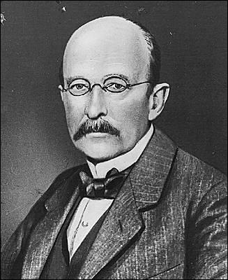 Né à Kiel (Allemagne) en 1858, ce physicien de la théorie des quanta obtiendra le prix Nobel de physique en 1918. Il décède en 1947. Il se nomme :