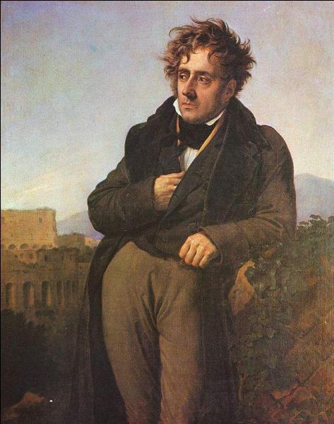 """Homme politique français, il a écrit """"René, ou les Effets des passions"""". Qui est-ce ?"""