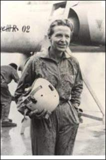 Elle est la première pilote d'essai, elle est née sous le nom de Douet, qui est-elle ?